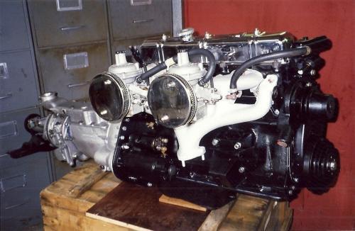 TR6 dans Stag - 1995
