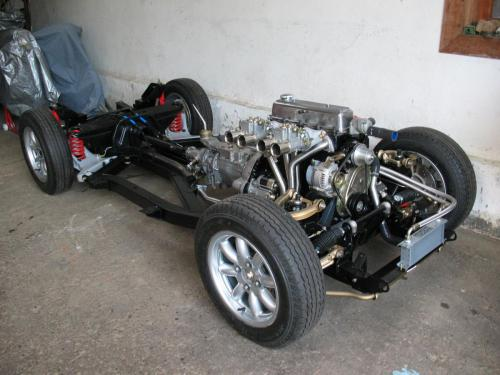TR4 rolling chassis